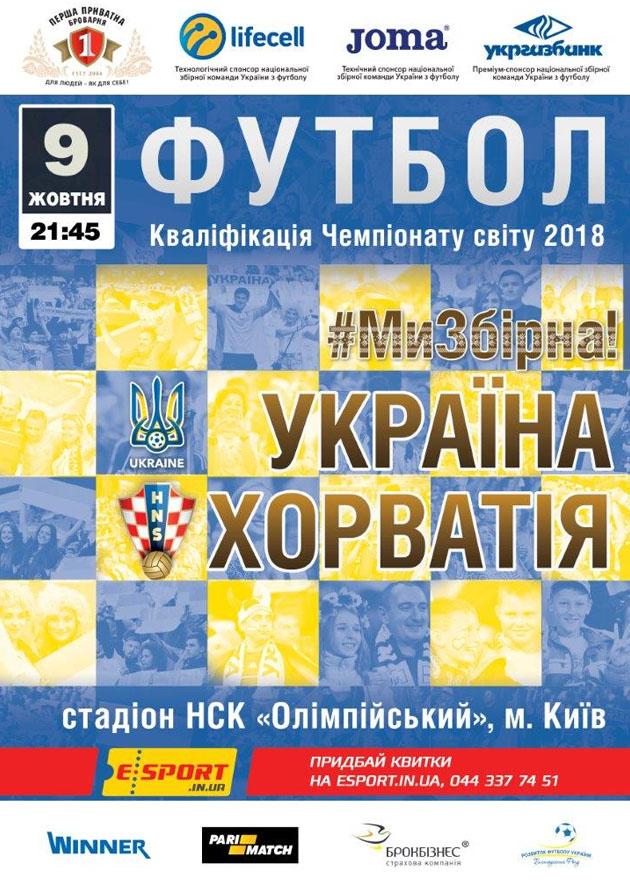 Украина - Хорватия